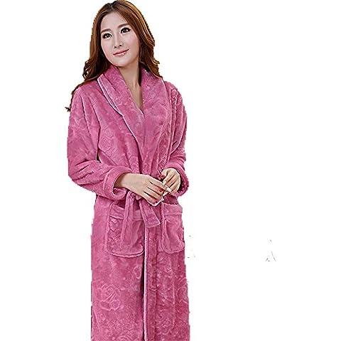 DSHUY Inverno flanella manica lunga collo robe robe servizi per