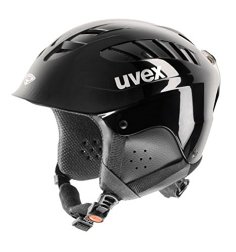 UVEX Kinder Skihelm X-Ride, black, 51-56 cm, S56.6.128.2203