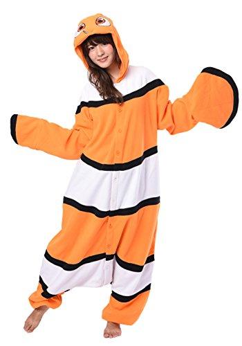 Findet Disney Kostüm Nemo - SAZAC Disney Fleece Kigurumi Findet Nemo