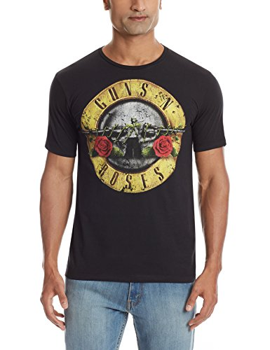 Guns N Roses Men's T-Shirt (8903346563449_GR0EMT1422_Black_XX-Large)  available at amazon for Rs.273