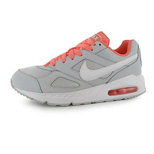 Nike Air Max Ivo (Gs), Scarpe da Corsa Bambina Plateado (Pure Platinum / White-Atomic Pink)