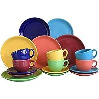 CreaTable 14013, Serie Top colours, Geschirrset Kaffeeservice 18 teilig