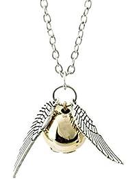 Collar Colgante Alas Reliquias de la Muerte Harry Potter y las Reliquias de la Muerte en Caja de regalo