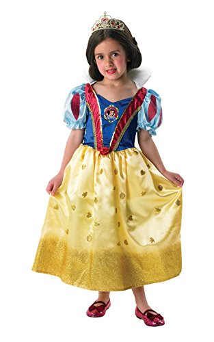 Rubie's 3 880033 M - Snow White Glitter Kostüm, Größe M