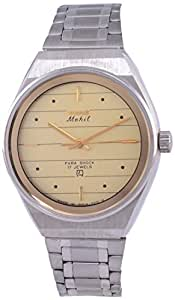 HMT Mohit Analogue Gold Dial Men's Watch - IWG005
