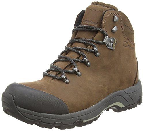 Berghaus Fellmaster GTX, Men's High Rise Hiking Shoes, Brown (Earth/Espresso), 12 UK (47 EU) -