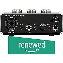 (Renewed) Behringer UM2 Audio Interface (Black)