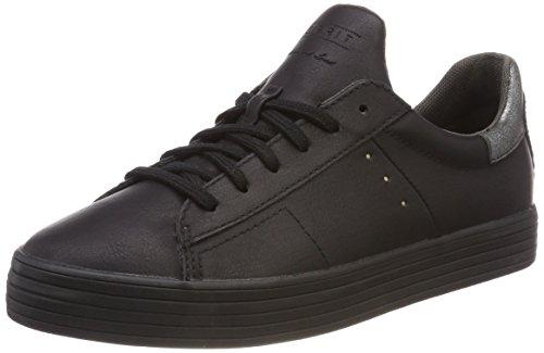 ESPRIT Damen Sita Lace up Sneaker, Schwarz (Black), 38 EU