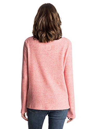 Roxy Miles Away Sweat-shirt Rose - Faded Rose