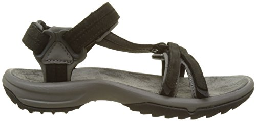 Teva Damen Terra Fi Lite Leather W's Sport-& Outdoor Sandalen Schwarz (black 513)