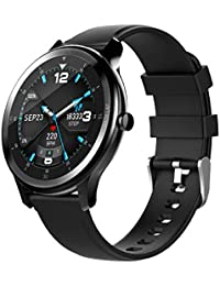 OGEDA Reloj Inteligente de Pulsera con Monitor de Ritmo cardíaco,Monitor de sueño, Monitor de Ritmo cardíaco, Reloj de Pulsera Inteligente para Hombres, Mujeres y niños, para Gimnasio o al Aire Libre
