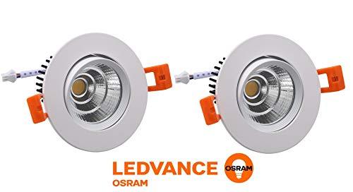 Osram 5W LED Spot Light Warm White, Pack of 2