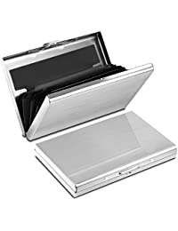 Yosemy Tarjetero para Tarjetas de Crédito, Delgado Billetera de Aluminio con RFID Bloqueo para Tarjetas de Visita
