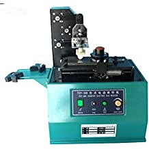 Kohstar TDY-300 escritorio Ambiental Impresora del cojín eléctrico, máquina de tampografía ronda, impresora de tinta CE