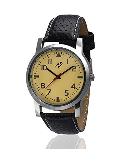 Yepme Elfa Men's Watch - Golden/Black -- YPMWATCH1350 image