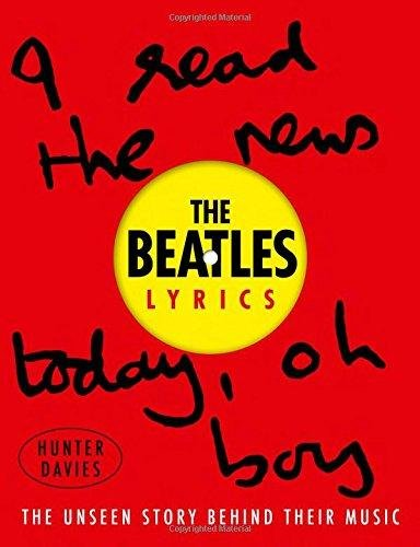 Price comparison product image The Beatles Lyrics: The Unseen Story Behind Their Music