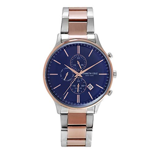 Kenneth Cole New York Men's Analog-Quartz Watch with Stainless-Steel Strap KC50379003