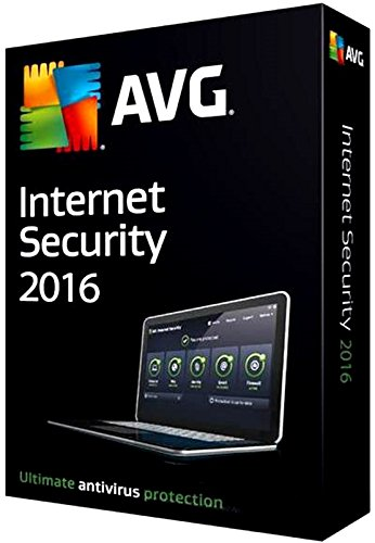 AVG Internet Security 2016 1 User 1 Year - OEM Test