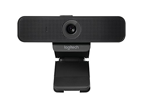 Logitech C925-e Webcam with HD Video and Built-In Stereo Microphones (Wireless-webcams Hd)