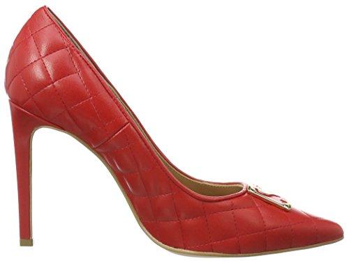 Love Moschino Damen Geschlossen Pumps Rot (red 500)