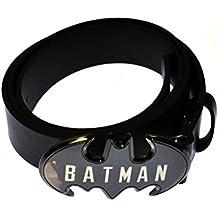 fb864d21d56a DC Comics Batman Boîte Métallique Cadeau - Ceinture Logo (Noir) - Taille  unique