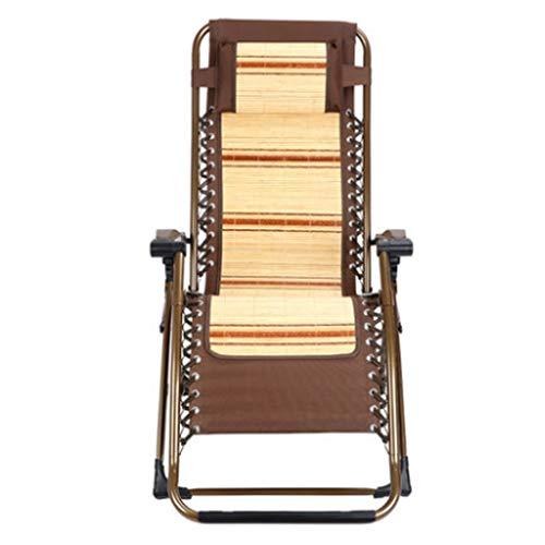 Fauteuils inclinables Chaise Longue Pliante Chaise Longue Plus Épaisse Pour La Pause Déjeuner Chaise De Douche D'été Chaise D'accompagnement Pour La Maison Balcon Chaise Longue De Plage