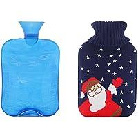 Wärmflasche 2 Liter mit Deckel - Schönes Geschenk für Weihnachten preisvergleich bei billige-tabletten.eu