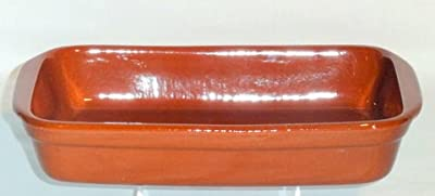 Genuine Terracotta 325x22cm Rectangular Dish - Classic Colour from Be-Active