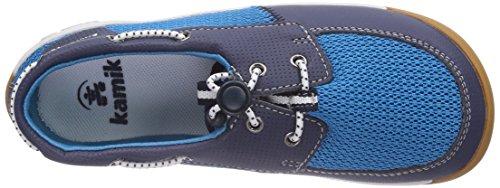 Kamik Aboard, Mocassins mixte enfant Bleu - Blau (BLUE/BLU)