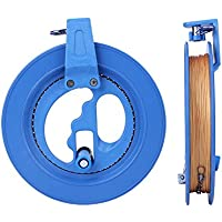 Zerodis Flying Kite Reel Tool Kinder Outdoor Kite Reel und String Spielzeug Linie Glatte Rotation Wickler Wickelspule Griff blau Rad