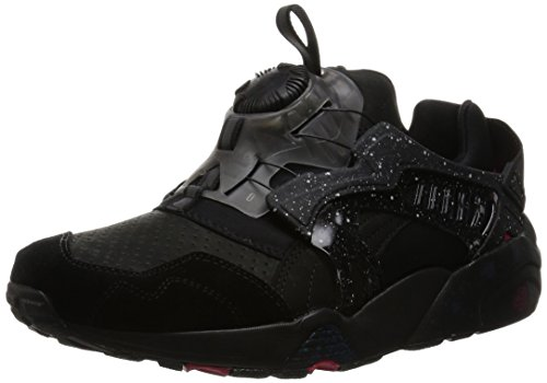 Puma Disc Blaze Herren Sneaker Schwarz (Black/Rose Red)