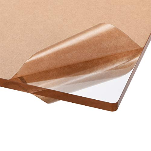 sourcing map Acryl-Plexiglas-Platte, 297 x 210 mm, A4, 6 mm dick, transparent