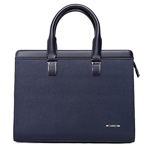 Leathario sac serviette cuir véritable sac à main en cuir