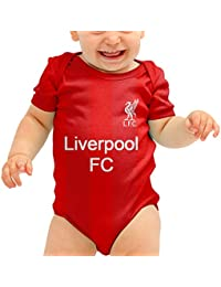 ff667ed80 L.F.C Liverpool Baby Grow - Liverpool FC Shirt - Home and Away Kits - Liverpool  Baby Grows Liverpool Bodysuit…