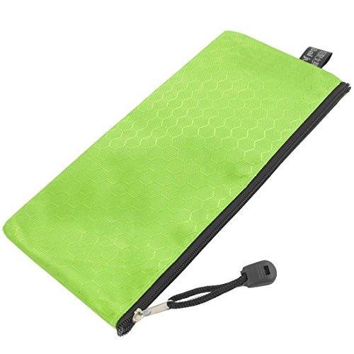 sourcingmap-pvc-tela-hex-modello-chiusura-a-cerniera-bag-verde