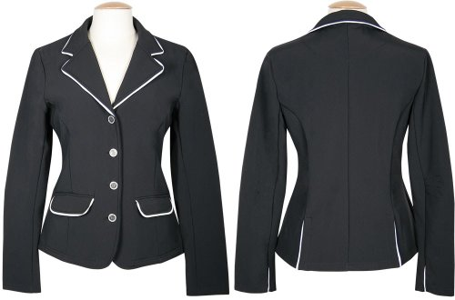 Harry\'s Horse Damen Turnierjacket Softshell St.Tropez-XXL, Schwarz