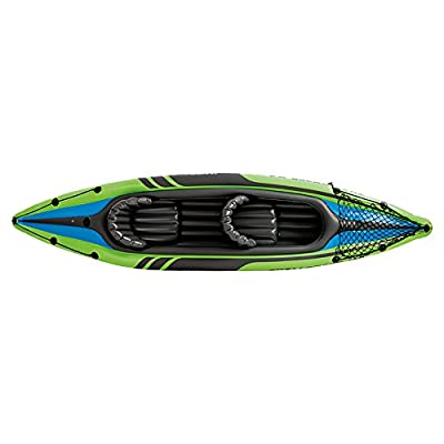 Intex Challenger K1 Kayak - Green/Grey by Intex