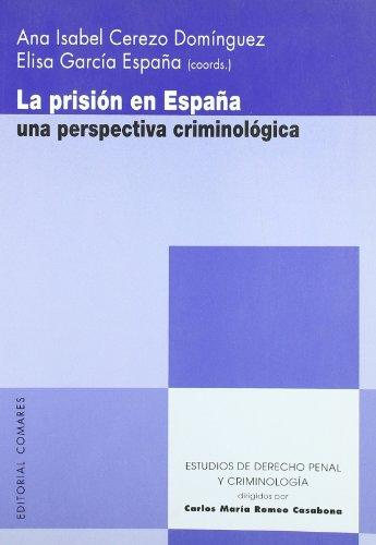 Portada del libro Prision en España - una perspectiva criminologica (Estud.Der.Penal Y Criminol)