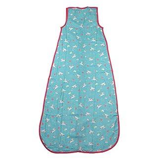 Slumbersac – Saco de Dormir de Verano (0,5 TOG, Muselina, Varios diseños y tamaños, Desde el Nacimiento hasta los 10 años) Multicolor Mariposa Talla:6-10 Years