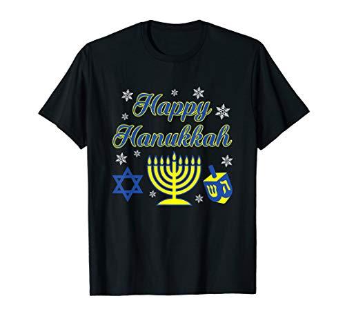ra Dreidel Davidstern Schnee Humor Gift T-Shirt ()