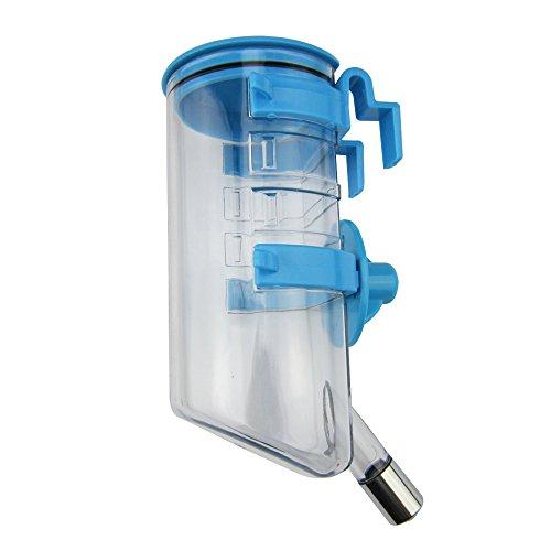 Paor 350ml tragbare Reise-Wasserflasche für den Hund, Haustier, Käfig.