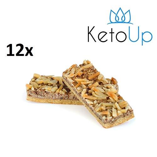 KetoUp: 12 PROTEIN RIEGEL- Bestens geeignet für die ketogene und Low Carb Ernährung | Sport Ernährung | Gesunde Ernährung | 70 Gramm | versandkostenfreie Lieferung innerhalb Deutschlands ab einem Bestellwert in Höhe von 20€