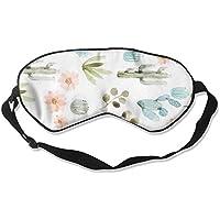 Comfortable Sleep Eyes Masks Floral Art Pattern Sleeping Mask For Travelling, Night Noon Nap, Mediation Or Yoga preisvergleich bei billige-tabletten.eu