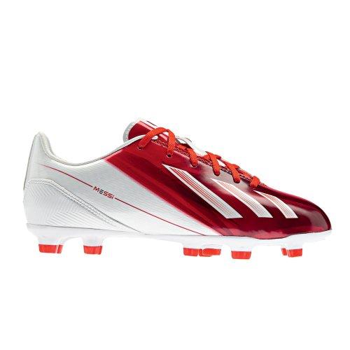Adidas f10 tRX fG j chaussures de football pour enfant modèle 2013 cames Blanc - Blanc