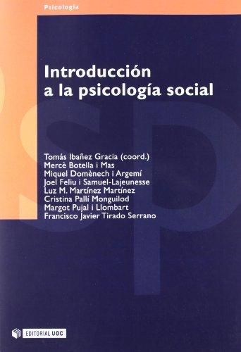 Introducción a la Psicología Social (Psicologia / Psychology)