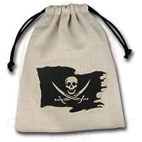 "Qworkshop Qworkshopbpir101""Pirate"" dés Sac"