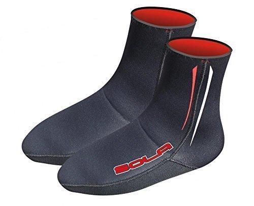 Sola Kinder / Damen / Herren / Erwachsene 2mm Neorene Taucheranzug Socken - Schwarz, Small (Länge 24cm)