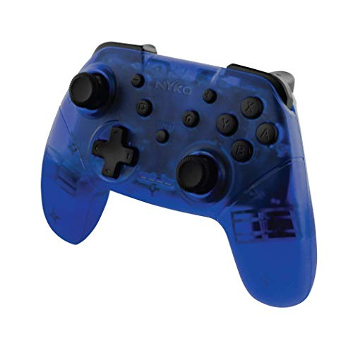 Nyko Wireless Core Controller - Bluetooth Pro Controller Alternative with Turbo and Android/PC Compatibility for Nintendo Switch - Blue [ ]