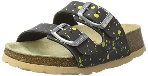 Superfit Jungen Fussbettpantoffel Pantoffeln, Grau (Stone Multi), 32 EU (Schule Herren-haus)