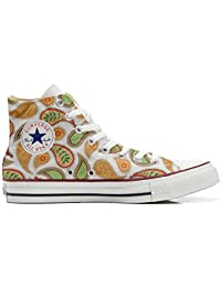 Converse All Star Customized, Sneaker Unisex, printed Italian style Quirky Paisley